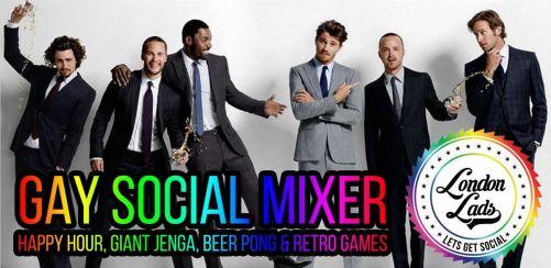 London Lads Gay Social Mixer