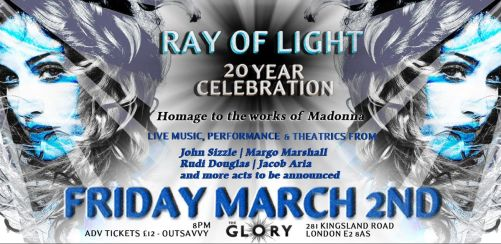 Ray of Light - Cabaret Homage of Madonnas Album