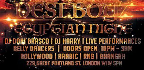 Desi Boyz Egyptian Night