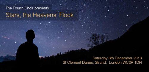 The Fourth Choir Christmas Concert: Stars, the Heavens Flock...