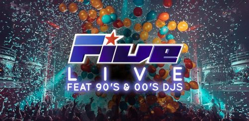 5ive LIVE feat 90s & 00s DJs
