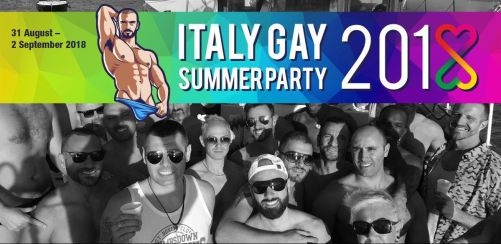 Italy Gay Summer Party 2018