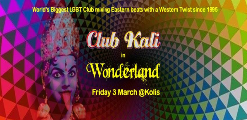 Club Kali in Wonderland