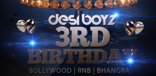 Desi Boyz 3rd Birthday