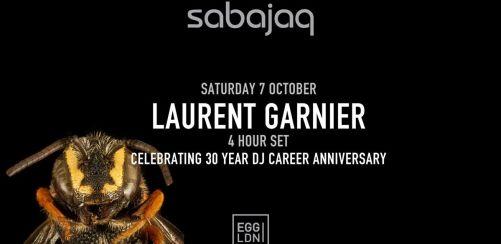 Sabajaq: Laurent Garnier (4-Hour Set)