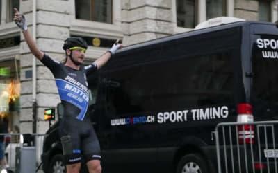 Peter Michael gewinnt zum 3. Mal das Certina Inline Race in Biel