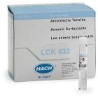 LCK432 - Anionic Surfactants, cuvette test 0.1 - 4.0 mg/L, 25 tests