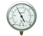 Tempress manometer A12, DN100, syrefast