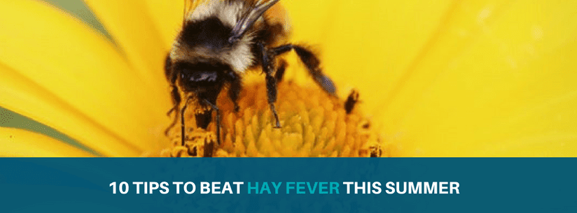 10 tips to improve the affects of hay fever