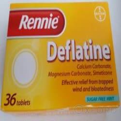 Rennie Deflatine Tablets 36's