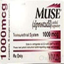 Muse (Alprostadil) 1000mcg 6 Pellets