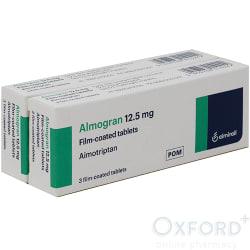 Almogran (Almotriptan) 12.5mg 6 Tablet