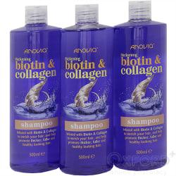 Biotin and Collagen Thickening Shampoo 3 x 500ml triple pack