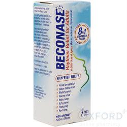 Beconase Non Drowsy Hayfever Relief Nasal Spray 100 Doses