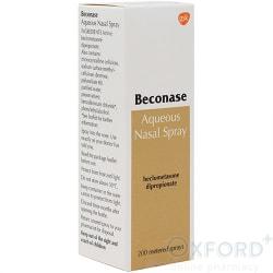 Beconase Aqueous Nasal Spray Beclometasone 200 doses 50mcg per spray