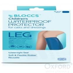 Bloccs Child Short Leg Waterproof Protector Age 10-14 Years