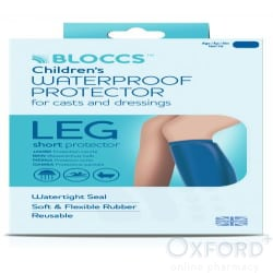 Bloccs Child Short Leg Waterproof Protector Age 4-9 Years
