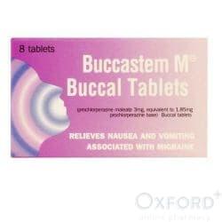 Buccastem M Buccal 8 Tablets