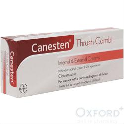 Canesten Thrush Combi Internal and External Creams