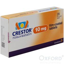 Crestor (Rosuvastatin) 10mg 28 Tablets