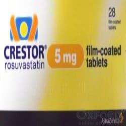 Crestor (Rosuvastatin) 5mg 28 Tablets