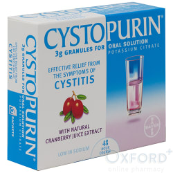 Cystopurin (Potassium Citrate) Granules 6 Sachets