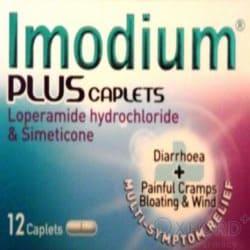 Imodium Plus 12 Caplets
