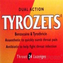 Tyrozets 24 Lozenges