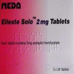 Elleste Solo (Estradiol Hemihydrate) 2mg 84 Tablets
