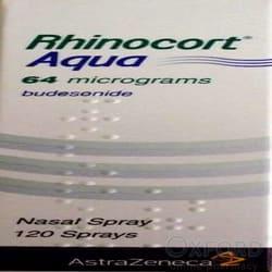Rhinocort (Budesonide) Aqua Nasal Spray 120 Doses