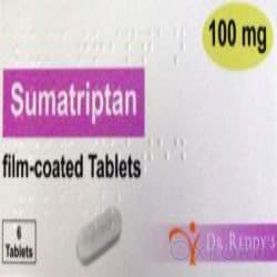 Sumatriptan 100mg 6 Tablets