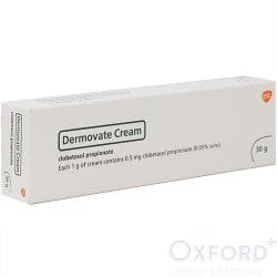 Dermovate (Clobetasol Propionate) 0.05% Cream 30g