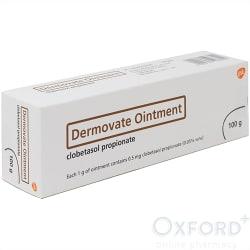 Dermovate Ointment (clobetasol) 100g for ezcema