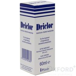 Driclor (Aluminium Chloride Hesahydrate) 60ml