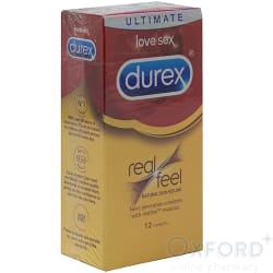Durex Real Feel 12 Condoms