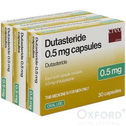 Dutasteride 0.5mg Caps 90 (generic Avodart)