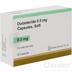 Dutasteride 0.5mg Capsules 30 (generic Avodart)