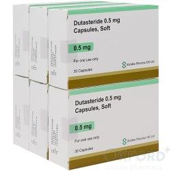 Dutasteride 0.5mg Capsules 180 (generic Avodart)