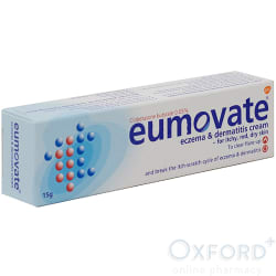 Eumovate Eczema/Dermatitis Cream 15g