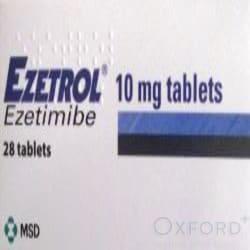 Ezetrol (Ezetimibe) 10mg 28 Tablets