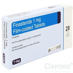 Finasteride 1mg  28 Tablets (Accord) For Hair Loss