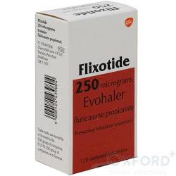 Flixotide Evohaler 250mcg 120 Dose (Vet)