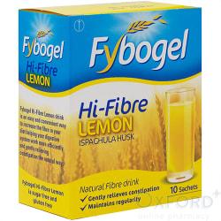 Fybogel Hi-Fibre Lemon Sachets 10's