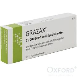 Grazax 75,000 SQ-T 30 Tablets