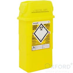 Yellow Sharps Box Nominal Capacity 1 Litre