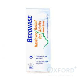 Beconase Non Drowsy Hayfever Relief Nasal Spray 100 Doses