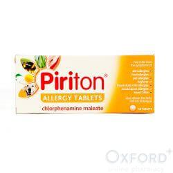 Piriton Allergy (Chlorphenamine) 30 Tablets