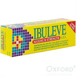 Ibuleve Maximum Strength 10% Pain Relief Gel 50g