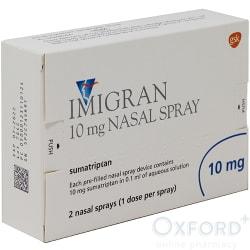 Imigran (Sumatriptan) 10mg Nasal Spray 2 Doses