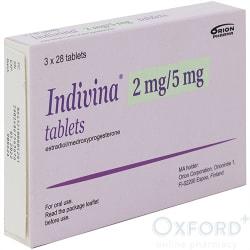 Indivina (Estradiol Medroxyprogesterone) 84 x 2/5mg Tabs